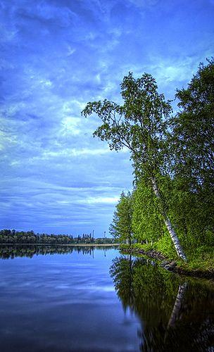 Sunrise on The Shore - Finland