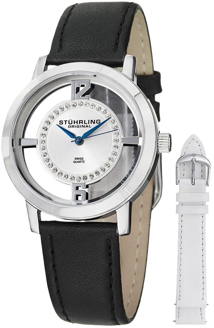 Reloj Stuhrling Original Winchester Tiara de acero inoxidable  | Antes: $1,035,000.00, HOY: $230,000.00