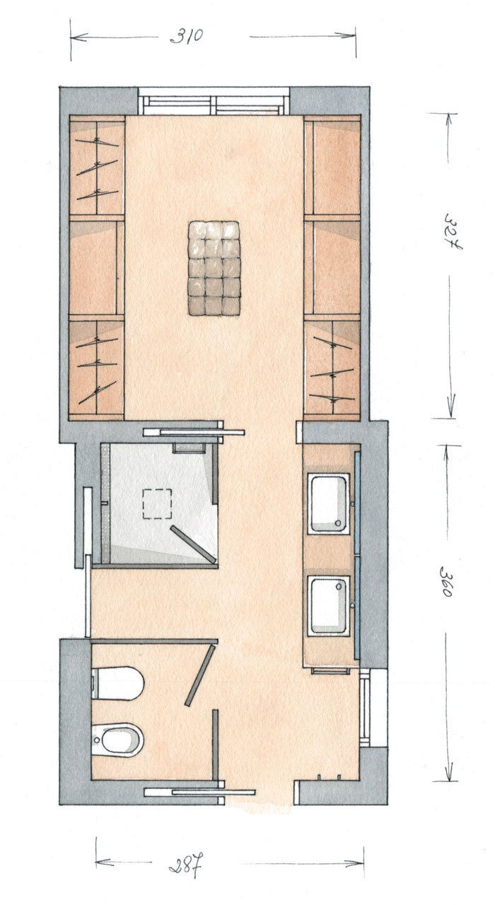 386 best images about floorplans on pinterest house for Planos de banos