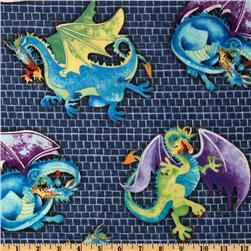 17 best images about miles room on pinterest shops boy for Dragon fabric kids