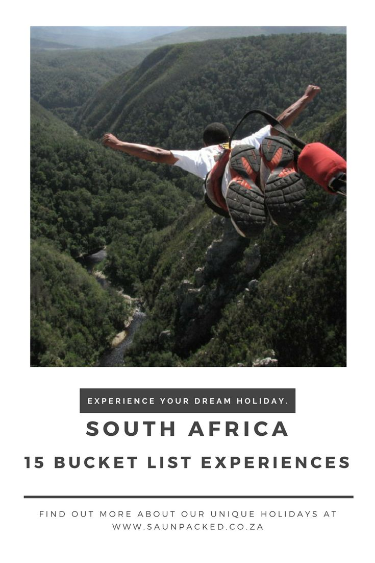 Forget Safari! Here's 15 bucket list activities to do in South Africa