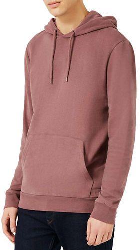 Topman Brushed Cotton-Blend Hoodie