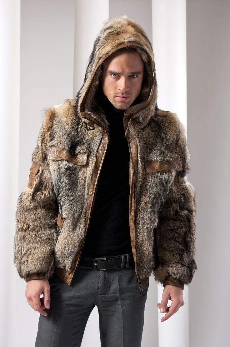 фото пальто из волка дом селе семисотка