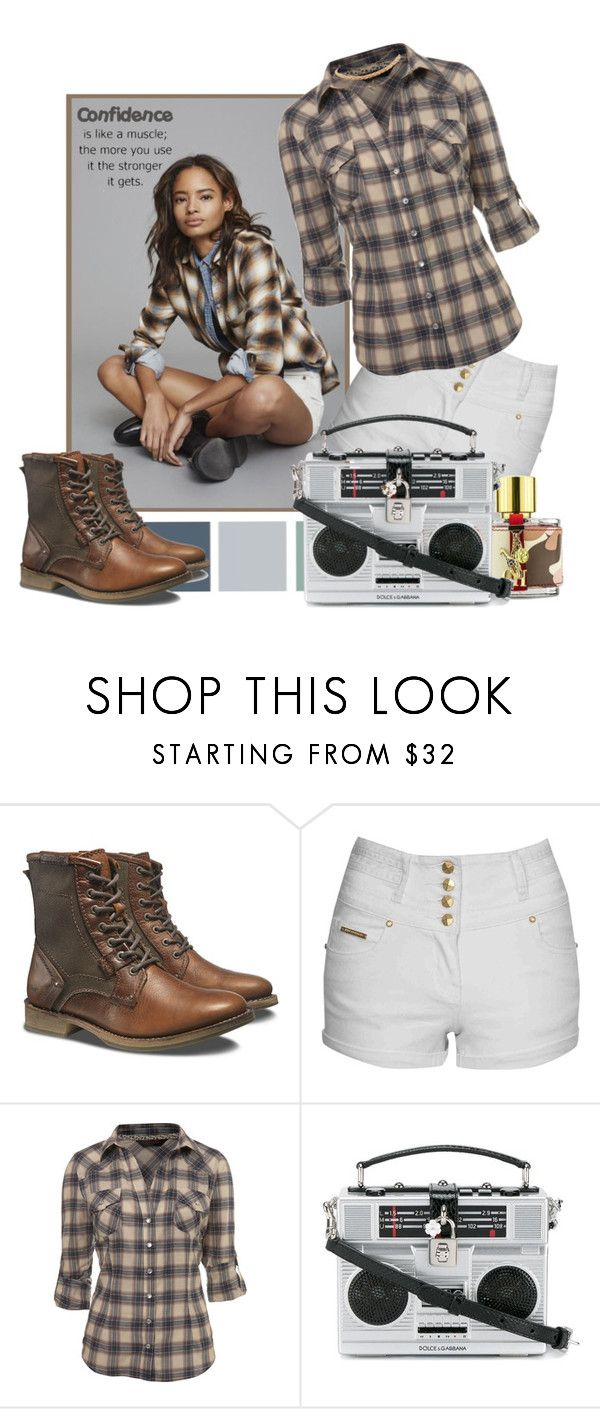 """confidence"" by sasane ❤ liked on Polyvore featuring Seed Design, Caterpillar, Jane Norman, Miss Selfridge, Carolina Herrera, Dolce&Gabbana and Wet Seal"