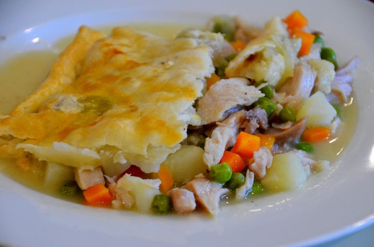 This is an easy to make Turkey Pot Pie. I used our leftover turkey and turkey broth that was...