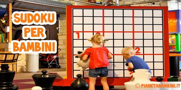 Sudoku per bambini: 60 schemi difficili 9×9 da stampare gratis