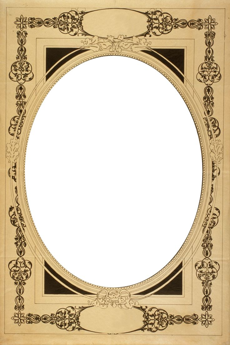 Slobbery image in printable photo frame