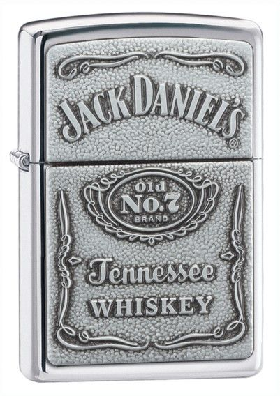 DETAILS: Our Zippo Jack Daniels Emblem Lighter makes a cool gift. Made in the USA, it includes Zippo's famous lifetime guarantee.