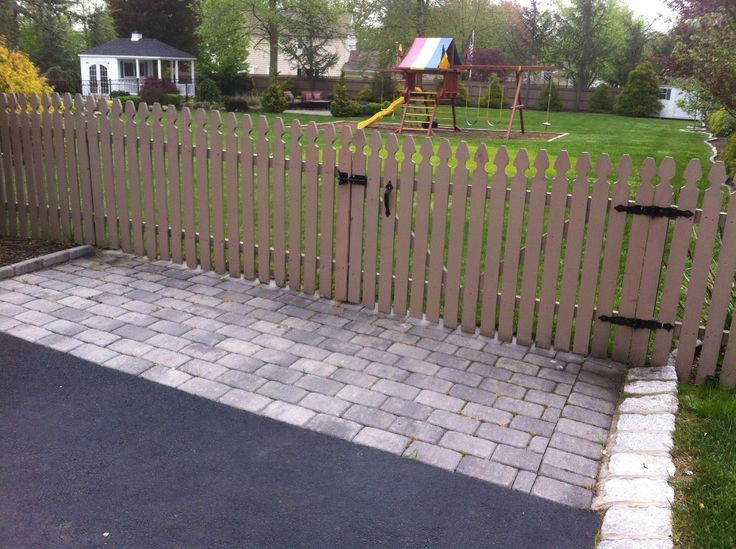 Removable Fence Section And Gate 2015 2454 Pinterest