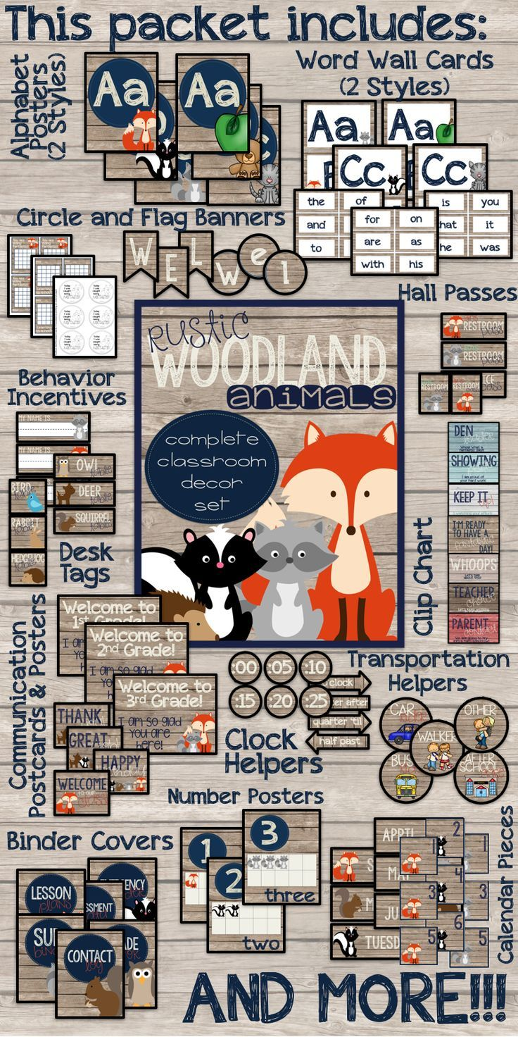 Classroom Design Guide ~ Best forest friends classroom theme images on