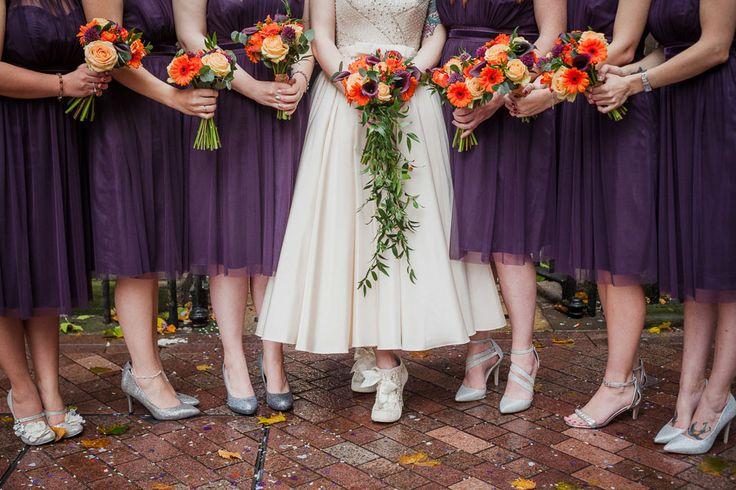 Tattoos, Pumpkins and Autumnal Themed Wedding