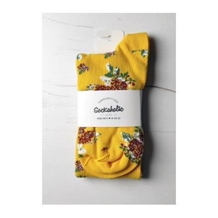 Sockaholic® es una marca de calcetines española especializada en la fabricación de calcetines de algodón de alta calidad.