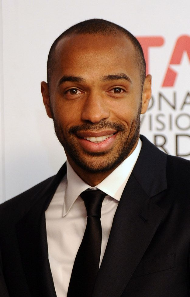 Thierry Henry is commentating at the World Cup which means we get to perve all over him again, wahoooo.