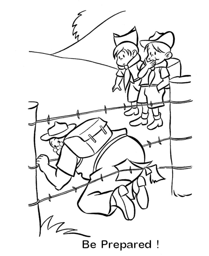 Free coloring pages of wolf cub scout for Wolf cub coloring pages