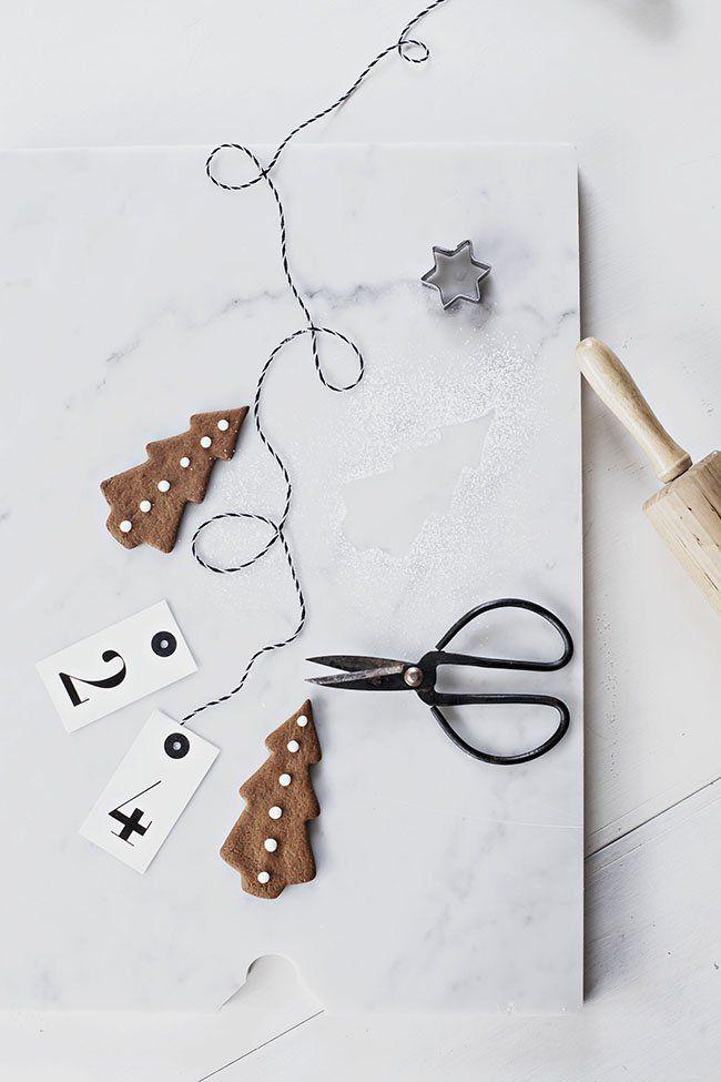 Cute #Christmas tree cookies