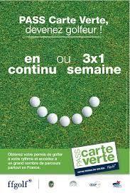 PASS CARTE VERTE  2S golf au riviera g kg de Barbossi  Tel 07 86 47 96 32 Réservez vos modules