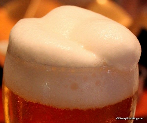 Review: Frozen Beer in Epcot's Japan | the disney food blog