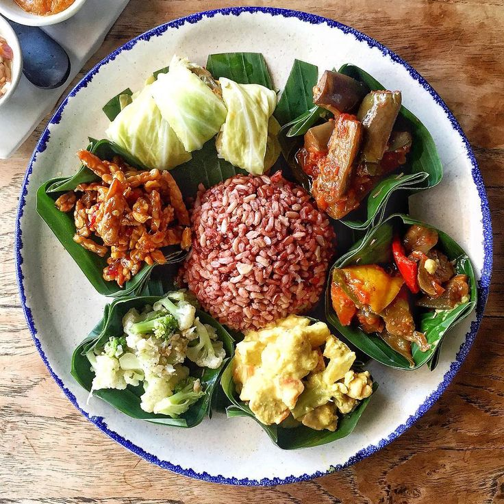 Warung Sopa, #Bali #Indonesia - Nasi Campur