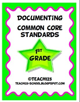 DOCUMENTING COMMON CORE STANDARDS :  Make your life easier with the documenting packet. The packet includes:     *Language Arts Teacher checklist  *Language Arts C.C. standards labels  *Reading book labels  *Writing book labels  *Math teacher checklist  *Math book labels  *Math C.C. Standards labels  *Parent note  *Teacher tip sheet  TPT - $
