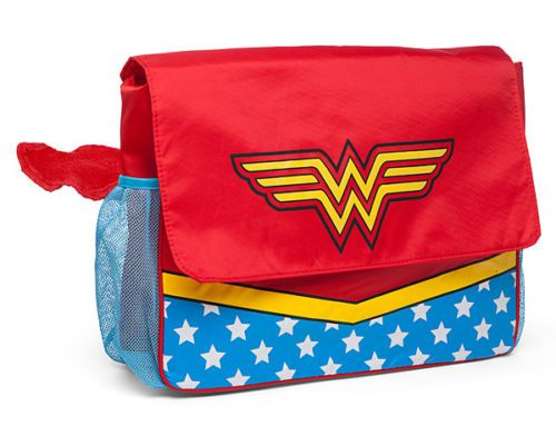 NEW-Wonder-Woman-Diaper-Bag-Perfect-Baby-Shower-Gift-Officially-Licensed