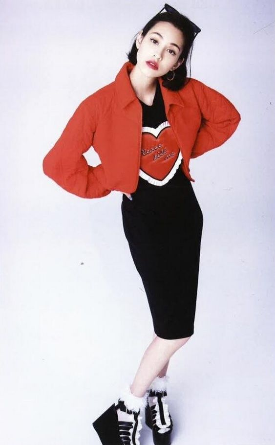Kiko Mizuhara by Ellen von Unwerth for Vogue Italia, January 2014