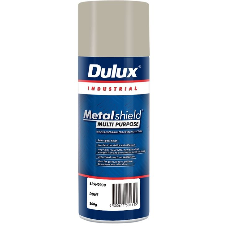 Find Dulux Metalshield 300g Dune Semi Gloss Multipurpose Paint at Bunnings Warehouse. Visit your local store for the widest range of paint & decorating products.
