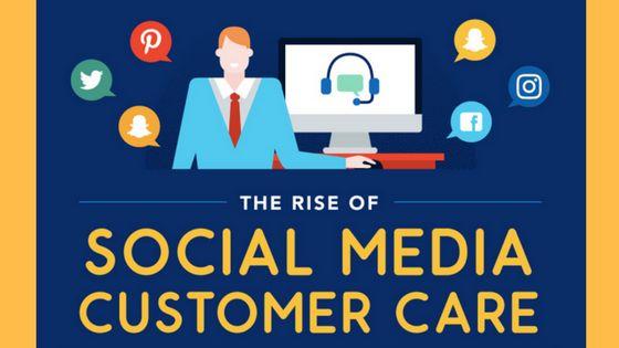 The Rise Of Social Media Customer Care | Cktechconnect Blog, Social marketing Tips, Social Media Tips