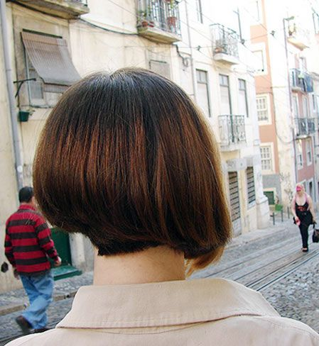 Short Wedge Hairstyles | Short Wedge Haircut Pictures Rear View | Short Hairstyle 2013