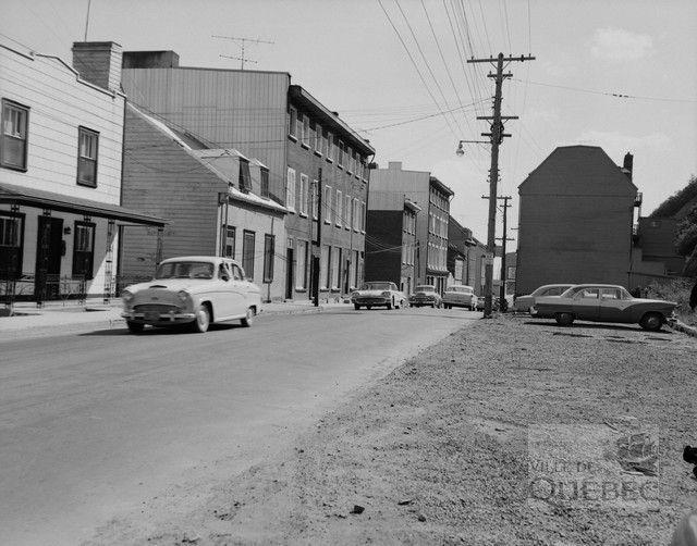 Rue Champlain 1959 Ville de Québec - Fiche