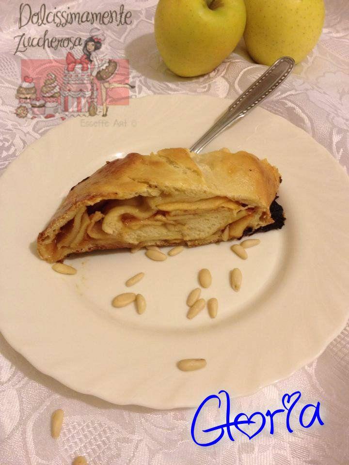 Strudel ricetta con pasta madre esuberi