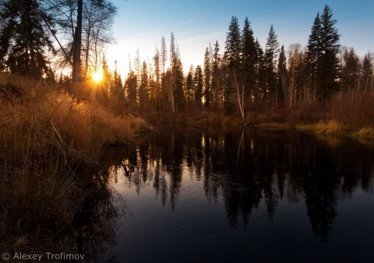 Autumn sunset melody