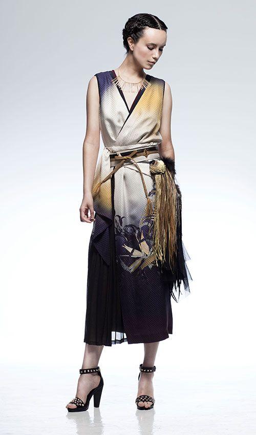 ソマルタが渋谷で、着物クチュールラインの受注販売会 - 新作ドレスやジャケットの写真1