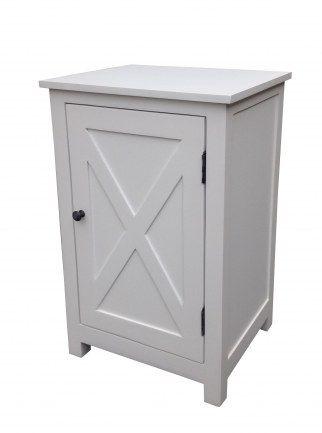 Sängbord vit 45x38x70 cm (rek.pris 1790 kr) / Sängbord / Sänggavlar