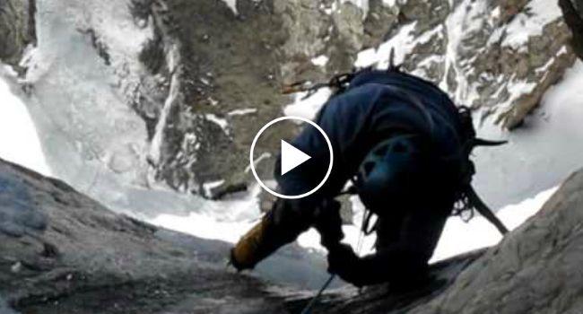 Escalada Em Montanha Com Gelo Quase Termina Em Tragédia