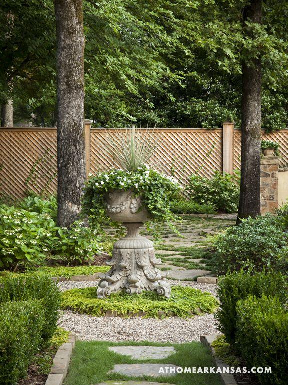 78 best landscaping along fencing images on pinterest for Garden design 1930