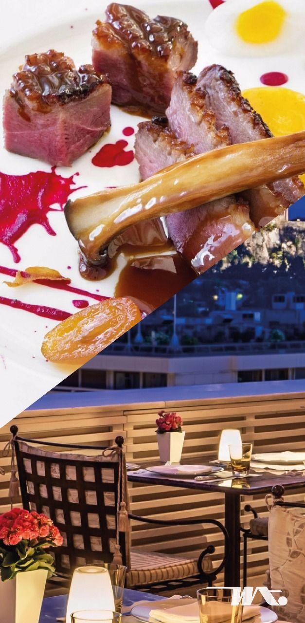Restoran Tudor Hall didekorasi dengan gaya neoklasik yang unik, memiliki panorama Acropolis yang tak ada bandingannya, sementara yang menjadi ciri khasnya adalah masakan kontemporer Yunani. Koki eksekutif di sini belajar memasak di bawah didikan Master Prancis Alain Ducasse, dan kemudian mendapatkan banyak penghargaan. Resep tradisional dari berbagai penjuru wilayah Yunani dalam variasi modern bisa Anda rasakan disini.