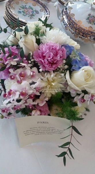 Matrimonio parigino romantici fiori in rosa http://www.nozzemeravigliose.it/matrimonio/addobbi-floreali/caserta/mimmo-di-vico/148