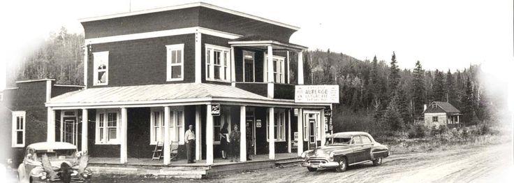 Hotel La Glacière Saint-Zénon, Mrc Matawinie Lanaudiere vers 1960