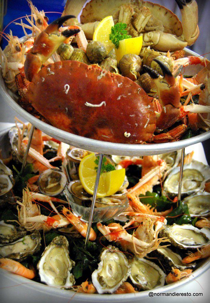 Restaurant Honfleur Plateau De Fruit De Mer
