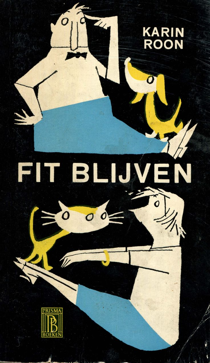 Fit Blijven, 1959 ©Fiep Amsterdam bv; Fiep Westendorp Illustrations