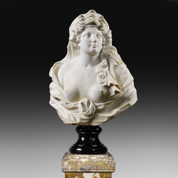 Buste de Céres – Ecole italienne du XVIIIe siècle | Galerie Perrin