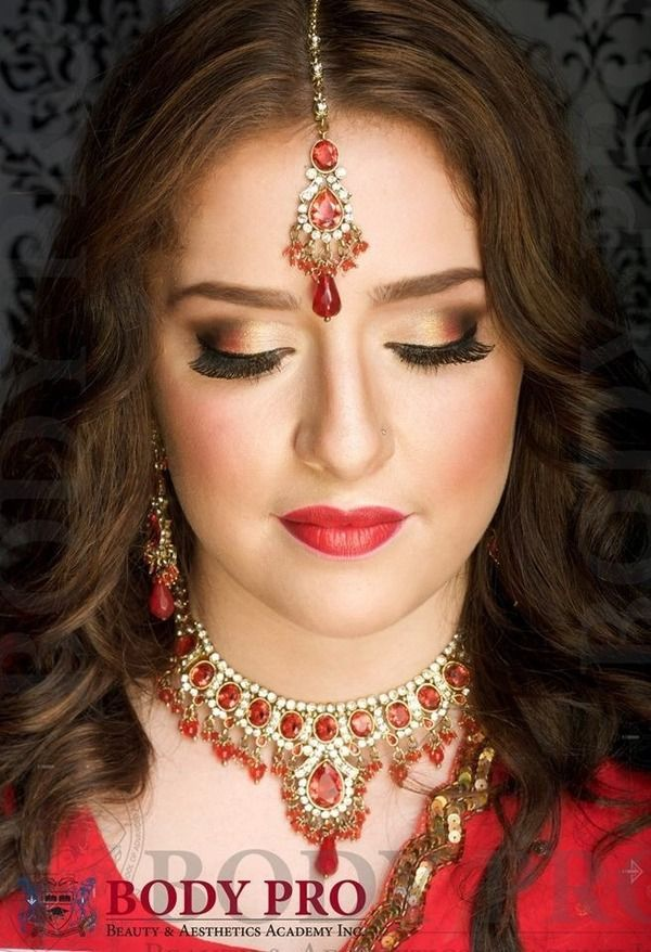 18 best Indian Bridal Makeup images on Pinterest