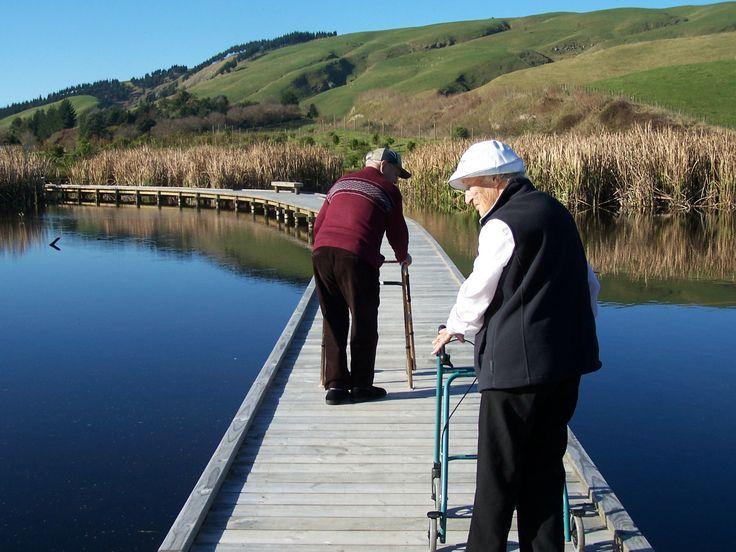 Everybody can enjoy Peka Peka Wetland on a sunny day