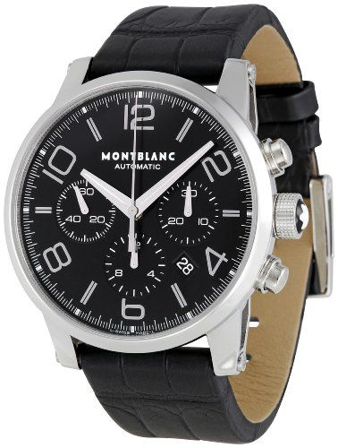 Best Luxury Watches for Men Montblanc Men's 9670 Timewalker Chronograph Watch  Montblanc was established in La Locle, which is in the heart of the Swiss Watch Industry http://www.slideshare.net/DustinBrownn/top-luxury-watches-best-rubber-band-wrist-watch