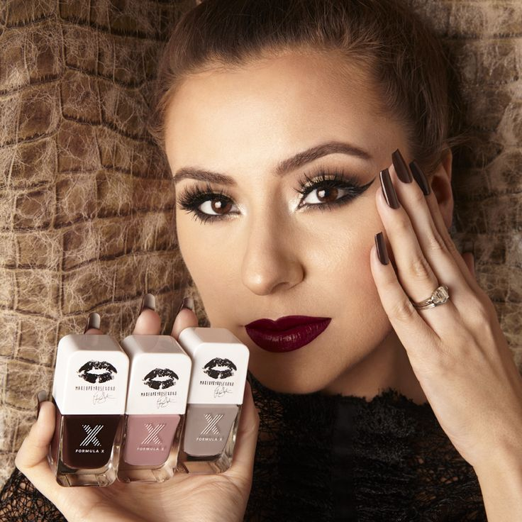 Let your nails take center stage with Formula X #ColorCurators: Makeup By Rose XOXO Edition. Makeup artist, beauty blogger, and singer-songwriter, Rose Siard of the blog Makeup By Rose XOXO, curated this nail color collection of romantic classics.