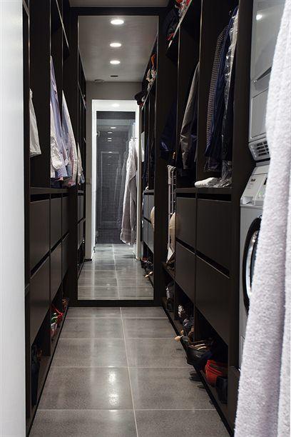 "Walk ""through"" closet."