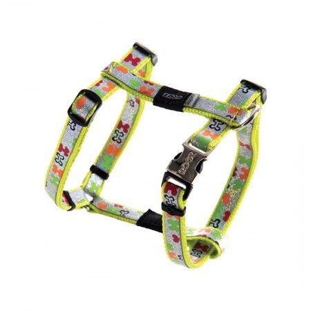 Rogz Lapz Trendy Dog Harness Multi - Medium