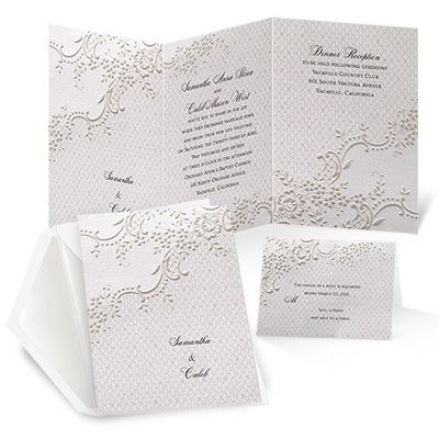 1000 images about cg wed invites save the date on With michaels lace wedding invitations