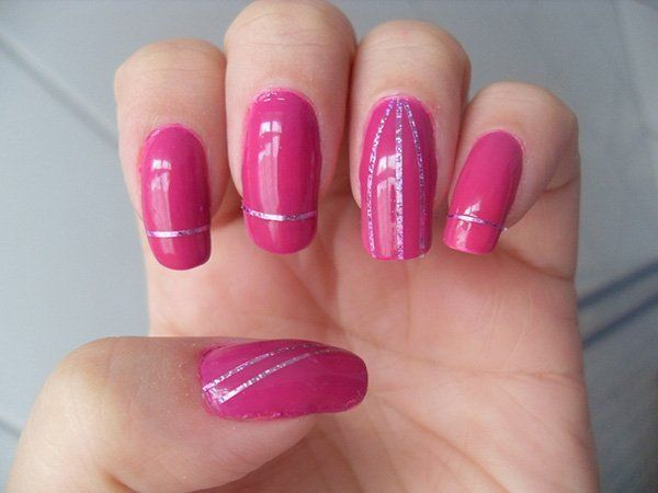25 best ideas about beginner nail art on pinterest - Simple nail polish designs at home ...
