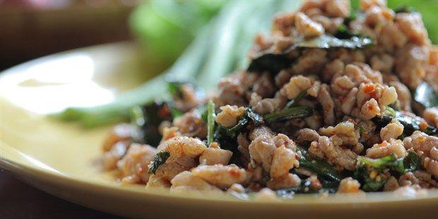 Laab Gai (Thai Chicken Laab Salad)